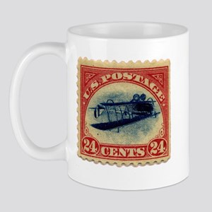 Rare Inverted Jenny Stamp Mug